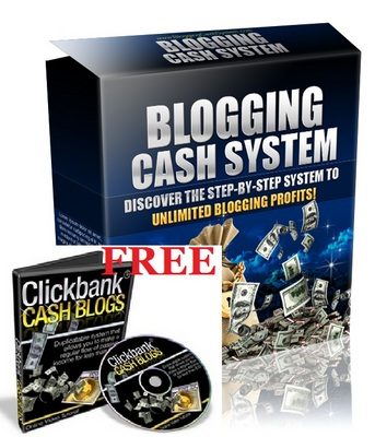 Product picture Blogging Cash System with Clickbank Review Cash Blogs