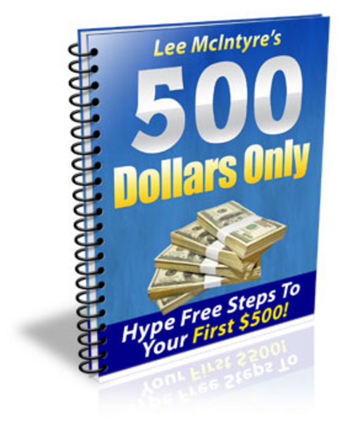 Product picture Fastest Way To Earn Your First $500 Online