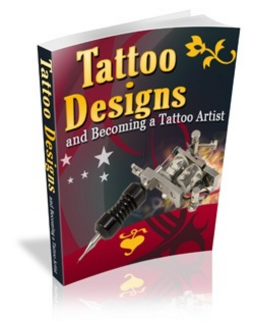 Product picture Tattoo Designs and Becoming a Tattoo Artist