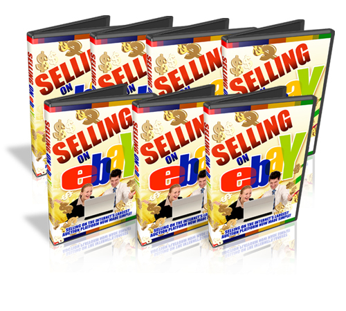 Product picture Selling on eBay Video Tutorials with MRR