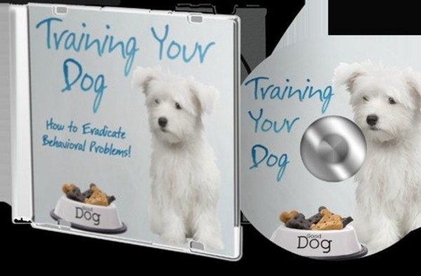 Product picture Training Your Dog eBook and MP3 Audio with Master Resale Rig